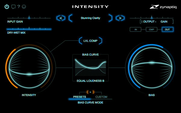 Zynaptiq INTENSITY Screenshot